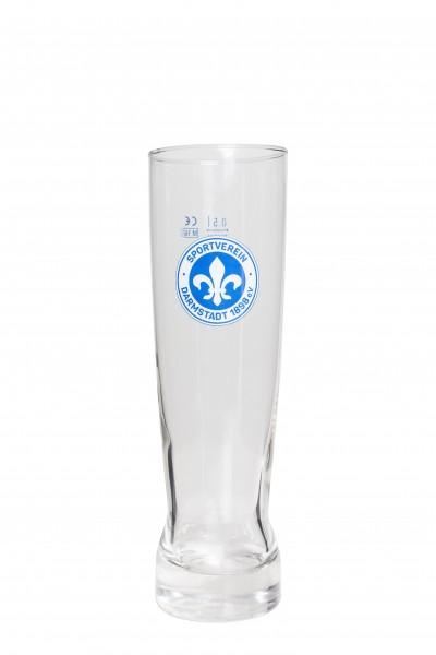 """Weizenbierglas """"Logo"""""""