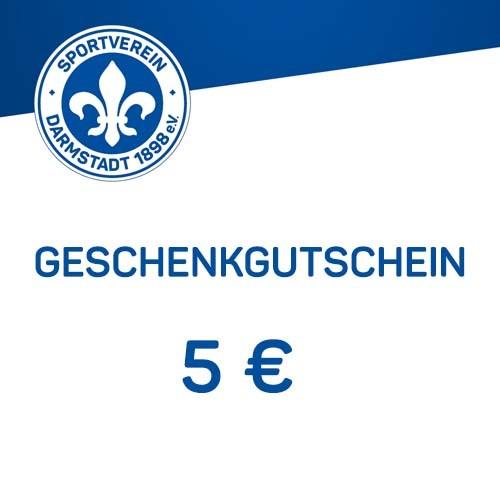Geschenkgutschein - 5 €