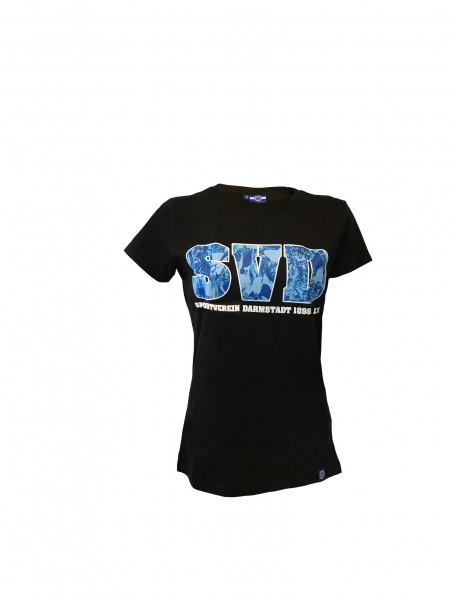 """Damen-Shirt """"SVD"""", schwarz"""