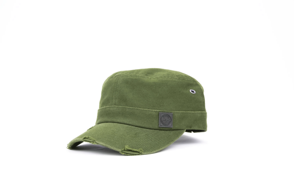 Military Cap Lederpatch