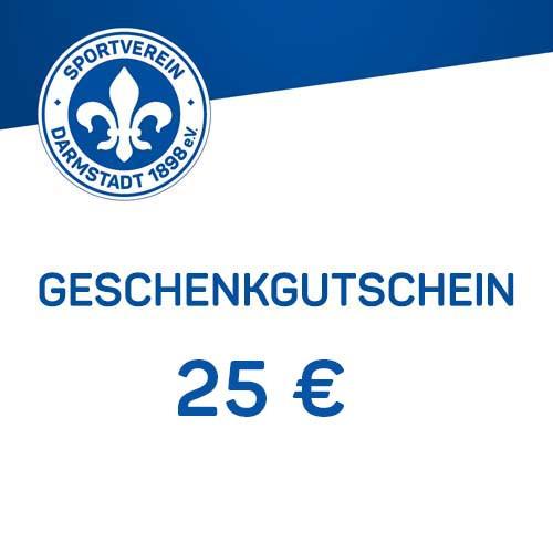 Geschenkgutschein - 25 €