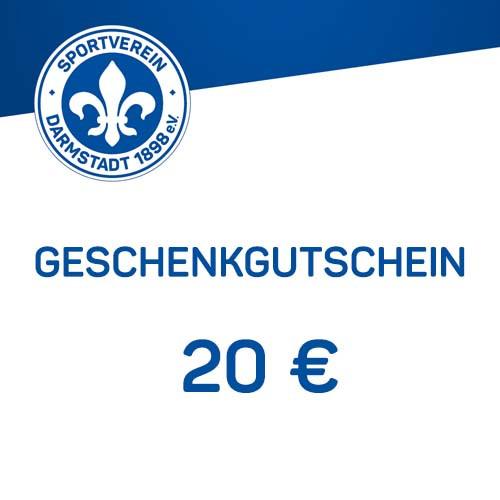 Geschenkgutschein - 20 €