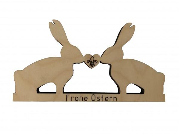 """Holz-Aufsteller """"Osterhasen"""""""