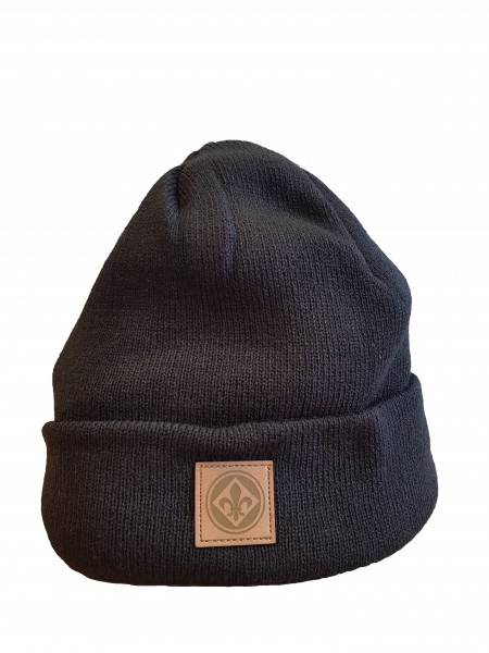 "Beanie ""Lederpatch"""