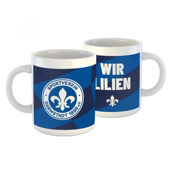 """SV 98 Tasse """"Wir Lilien"""""""