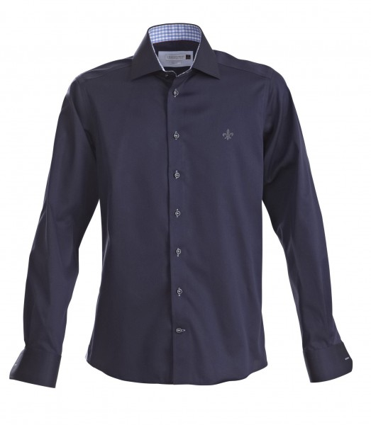 Herren-Business-Hemd navy