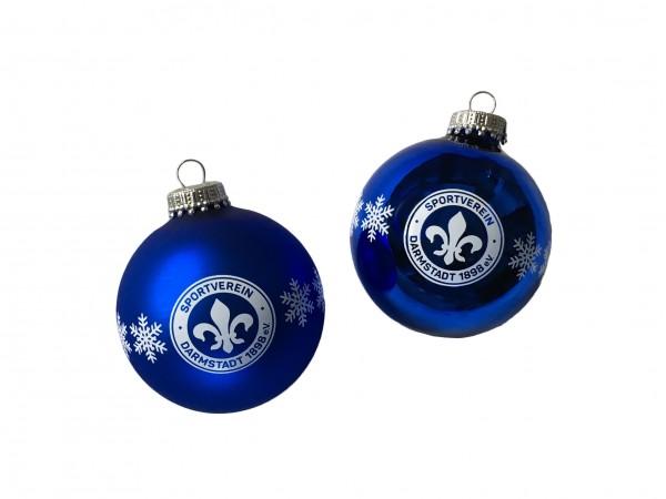 "Weihnachtskugeln ""Logo"" 4er Set"