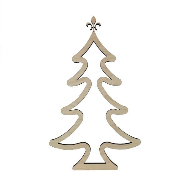 """Holz-Aufsteller """"Weihnachtsbaum"""""""
