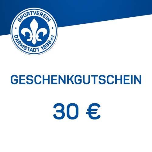 Geschenkgutschein - 30 €