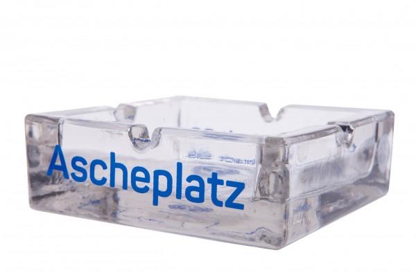 """Aschenbecher """"Ascheplatz"""" (Glas)"""