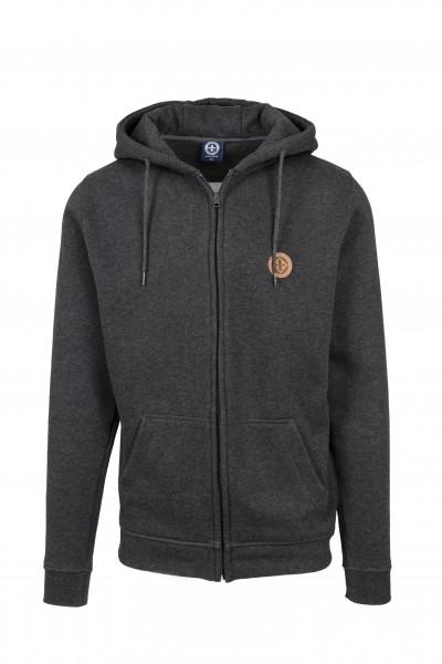 """Zipper-Jacke """"Premium"""", charcoal"""