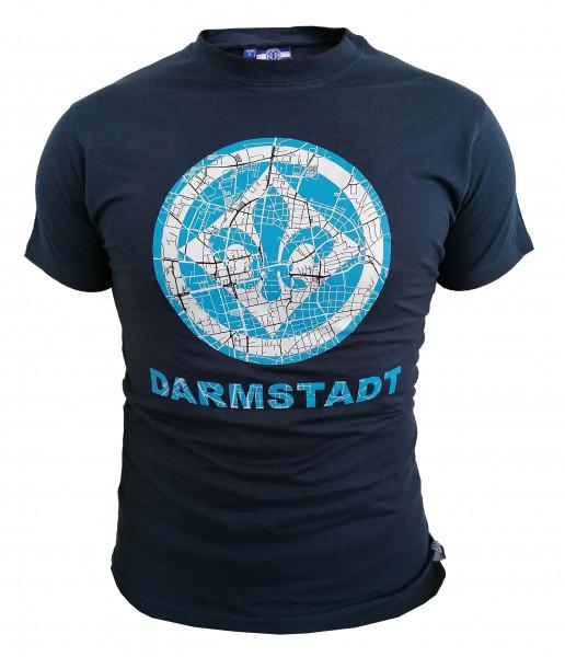 "SV 98 T-Shirt ""Stadtplan"""