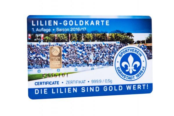 SV 98 Goldkarte