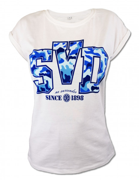 """SV 98 Damenshirt """"No surrender"""""""